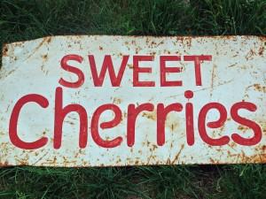 cherry sign